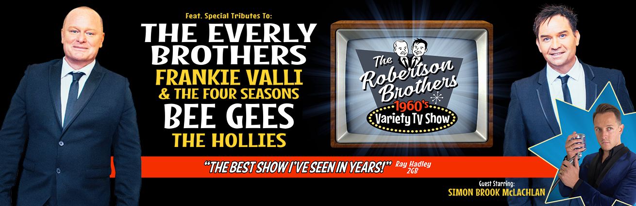 The Robertson Brothers- 1960's Variety TV Show