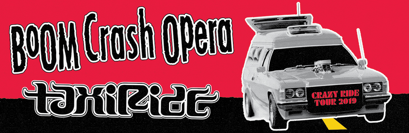 "Boom Crash Opera & Taxiride ""This Crazy Ride"""