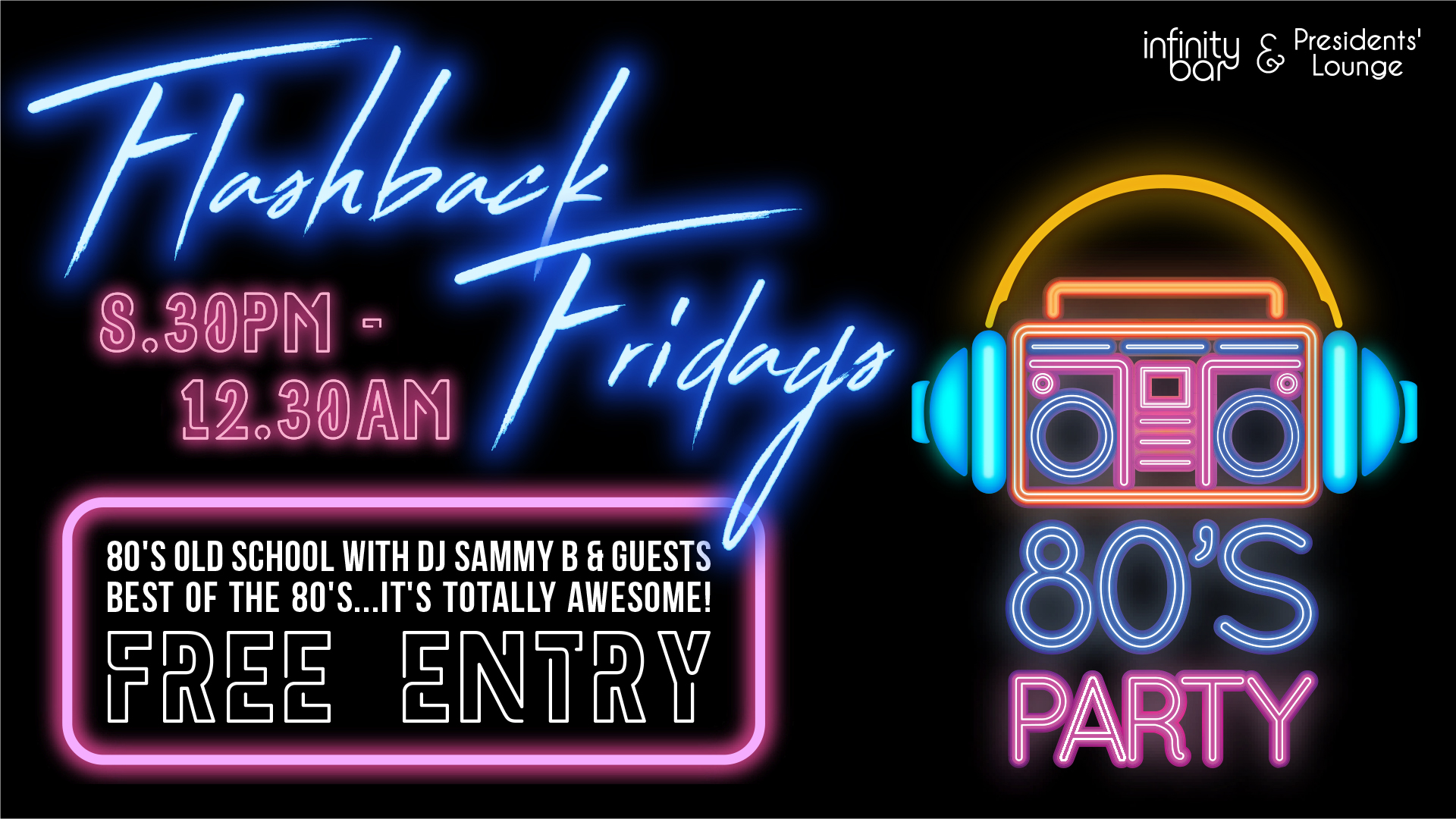 Flashback Fridays 80's Party - Revesby Workers Club